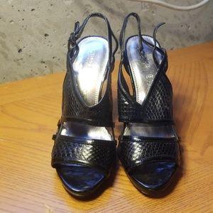 WHBM heels, barely worn
